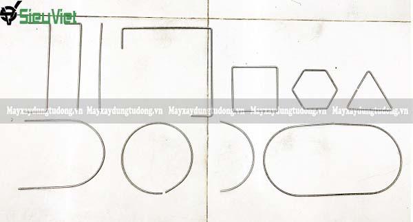 Các sản phầm Máy bẻ đai sắt inox 3-5mm làm ra