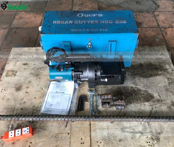 Máy cắt sắt cầm tay Ogura HBC-232