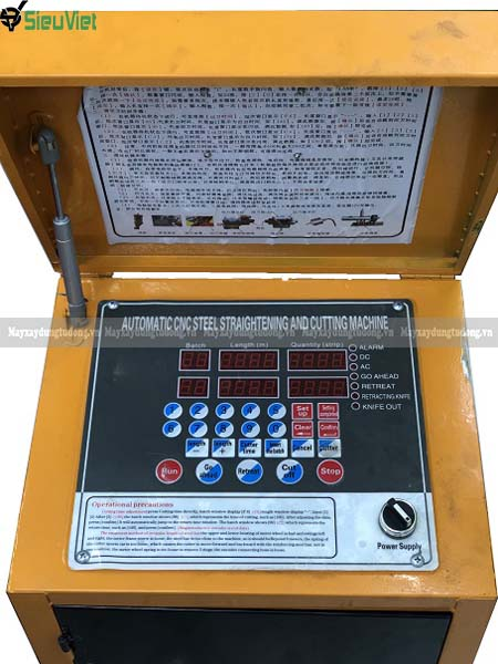 Tủ điện máy duỗi cắt sắt GT4-12