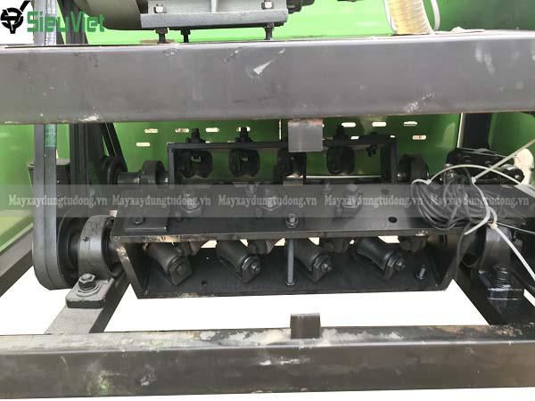 Dàn duỗi của máy duỗi cắt thép GT4-12 đôi