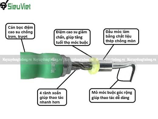 Móc buộc sắt Siêu Việt
